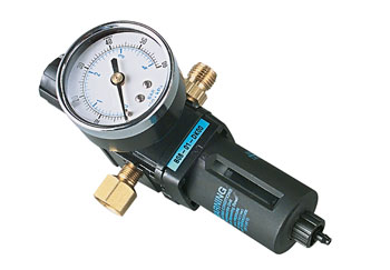 Badger Air Regulator w/Filter & Gauge