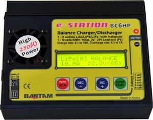 Bantam BC6HP e-Station 250W Charger/Discharger/Balancer