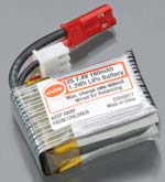 Cox 180mAh-7.4V Lipo Micro Battery Pack