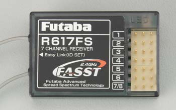Futaba R617FS 2.4Ghz FASST 7-Channel 7C Receiver