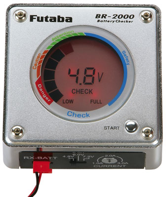 Futaba BR-2000 Battery Checker-Discharger
