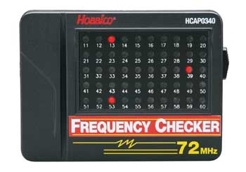 Hobbico 72Mhz Radio Frequency Checker