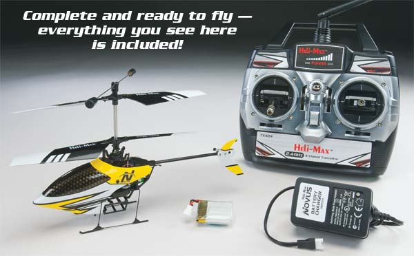 Novus CX 2.4Ghz RTF Mini Indoor Helicopter