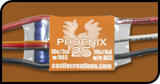 CC Phoenix 25 ESC Brushless