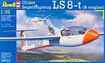 Revell Germany 1/32 Glider LS-8t